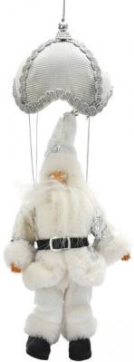 Украшение Winter Wings Дед мороз белый 35 см 1 шт полиэстер N069626/БЕЛ украшение новогоднее оконное magic time дед мороз с самоваром двустороннее 30 х 32 см