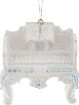 Украшение Winter Wings Клавесин белый 8 см 1 шт полирезин N180436 цены онлайн
