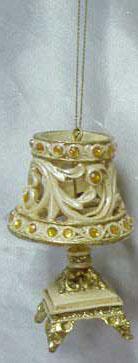 Украшение Winter Wings Лампа настольная шампань 9 см 1 шт полирезин N180447 декоративное украшение umbra mariposa настенное цвет белый 9 шт