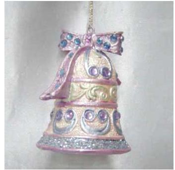Украшение Winter Wings Рождественский колокольчик 7 см 1 шт полирезин украшение елочное колокольчик новый год 7 8 см полирезин 1 шт в пак