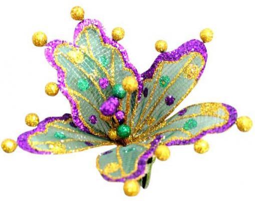 Украшение Winter Wings Цветок ажур 18 см 1 шт полимер 69890/1 для презентации цветок с надписями из семи лепестков
