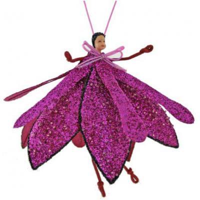Елочные украшения Winter Wings Цветок-эльф розовый 19 см 1 шт winter wings украшение елочное елка