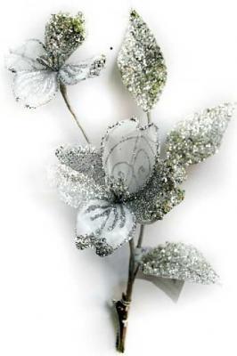Елочные украшения Winter Wings Цветок 27 см 1 шт полиэстер елочные украшения winter wings цветок 27 см 1 шт полиэстер