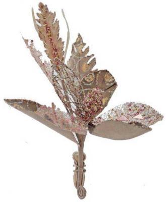 Елочные украшения Winter Wings Цветок 14 см 1 шт елочные украшения winter wings цветок 27 см 1 шт полиэстер