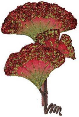 Елочные украшения Winter Wings Цветок в ассортименте 14 см 1 шт N069181 елочные украшения winter wings цветок 27 см 1 шт полиэстер