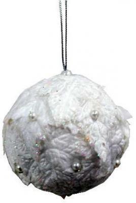 Елочные украшения Winter Wings Шар снежок белый 7 см 1 шт полимер елочные украшения winter wings набор шаров мишки 7 шт