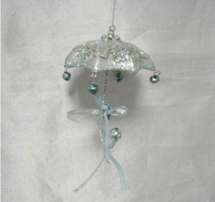 Елочные украшения Winter Wings Зонтик 10 см 1 шт полирезин N180444 winter wings украшение елочное елка