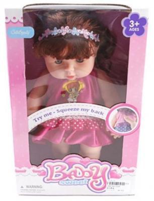 Кукла Shantou Gepai Baby Sweet в красном платьице 30 см со звуком