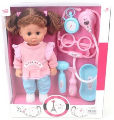 Кукла Лилли-доктор 30 см, звук, 6 аксесс., кор. кукла yako m6579 6