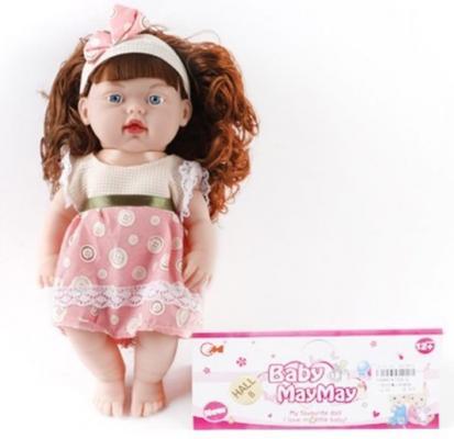 Кукла Shantou Gepai Хельга 32 см со звуком кукла shantou gepai my baby 30 см со звуком пьющая писающая