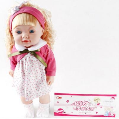 Кукла Белла 38 см, озвуч., в ассорт., пакет кукла shantou gepai amore baby 23 см p8872 16 pvc