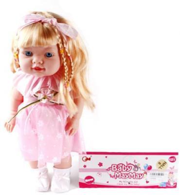 Кукла Хелен 38 см, озвуч., в ассорт., пакет кукла shantou gepai amore baby 23 см p8872 16 pvc