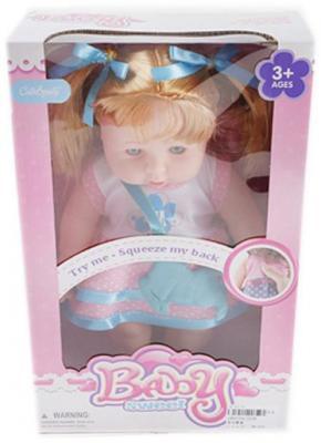 Кукла 30 см в розн. платьице, озвуч., кор. кукла shantou gepai amore baby 23 см p8872 16 pvc