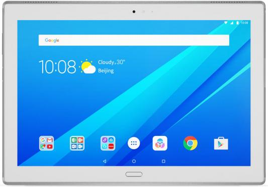 Планшет Lenovo Tab 4 Plus TB-X704L 10.1 16Gb белый LTE Wi-Fi 3G Bluetooth Android ZA2R0002RU планшет lenovo tab 4 8 plus tb 8704x za2f0087ru qualcomm snapdragon 625 2 0 ghz 3072mb 16gb gps lte 3g wi fi bluetooth cam 8 0 1920x1200 android