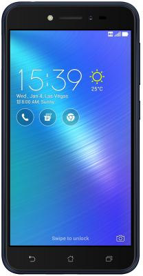 Смартфон ASUS ZenFone Live ZB501KL черный 5 16 Гб LTE Wi-Fi GPS 90AK0071-M01040 смартфон asus zenfone zf3 laser zc551kl золотистый 5 5 32 гб wi fi lte gps 3g 90az01b2 m00050
