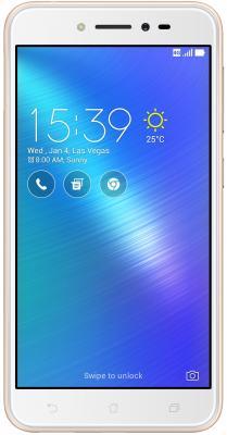 "Смартфон ASUS ZenFone Live ZB501KL золотистый 5"" 16 Гб LTE Wi-Fi GPS 90AK0072-M00110"