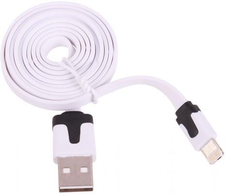 Кабель Lightning 0.9м LP плоский SM001431 кабель