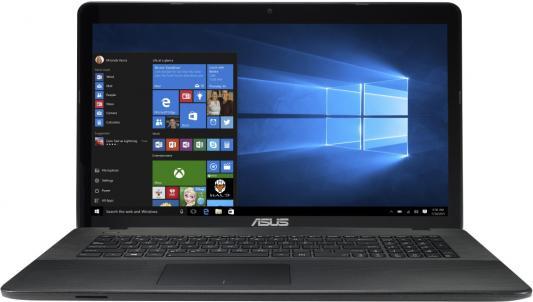 Ноутбук ASUS X751NV-TY011T 17.3 1600x900 Intel Pentium-N4200 90NB0EB1-M00200 asus x540sc pentium n3700 1 6ghz 15 6 4gb 1tb nv gt810m dvdrw w10 black
