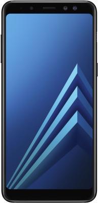 Смартфон Samsung Galaxy A8+ (2018) 32 Гб черный (SM-A730FZKDSER) blackview a8 смартфон
