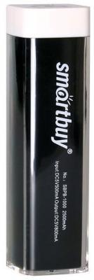 Внешний аккумулятор Power Bank 2000 мАч Smart Buy EZ-BAT черный SBPB-1000