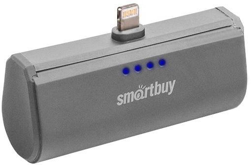 Портативное зарядное устройство Smartbuy Turbo 8 SBPB-120 2200mAh серый