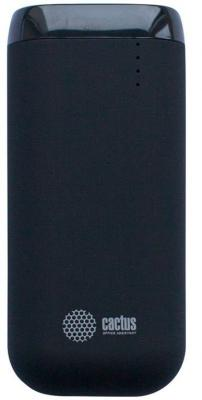 Фото Внешний аккумулятор Power Bank 5200 мАч Cactus CS-PBHTST-5200 черный внешний аккумулятор cactus cs pbpt18 18000al 18000mah silver
