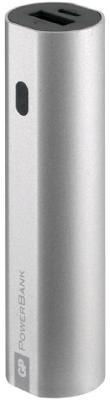 Внешний аккумулятор Power Bank 3000 мАч GP GPFN03MSE-2CRB1 серебристый