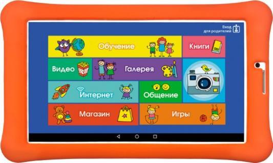 Планшет TurboSmart TurboKids 3G NEW 7 8Gb белый оранжевый Wi-Fi 3G Bluetooth Android 3G NEW планшет archos access 101 3g 10 1 8gb серый wi fi 3g bluetooth android 503533