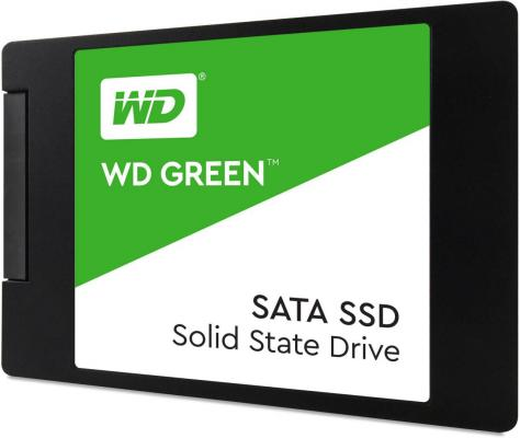 "Твердотельный накопитель SSD 2.5"" 120 Gb Western Digital Green WDS120G2G0A Read 545Mb/s Write 430Mb/s TLC"