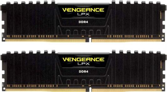Оперативная память 16Gb (2x8Gb) PC4-21300 2666MHz DDR4 DIMM Corsair CMK16GX4M2D2666C16