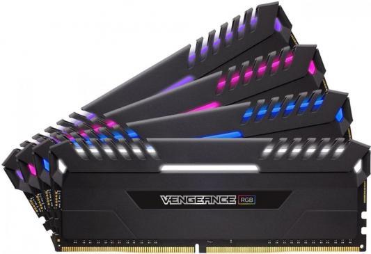 Оперативная память 64Gb (4x16Gb) PC4-27700 3466MHz DDR4 DIMM Corsair CMR64GX4M4C3466C16 оперативная память 64gb 4x16gb pc4 24000 2666mhz ddr4 dimm corsair cmk64gx4m4a2666c16
