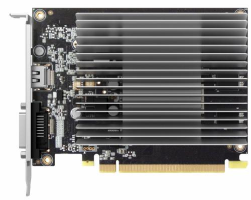 все цены на Видеокарта 2048Mb Palit GeForce GT1030 PCI-E DDR5 64bit DVI HDMI HDCP PA-GT1030-2GD5 NE5103000646-1081H Retail онлайн
