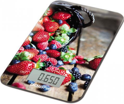 Весы кухонные Polaris PKS 0748DG рисунок