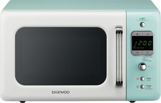 СВЧ DAEWOO KOR-6LBRWM 800 Вт белый голубой