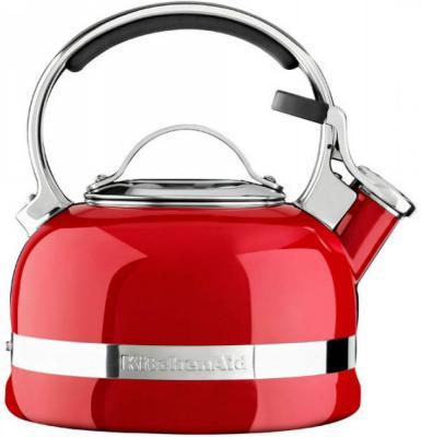 Чайник KitchenAid KTEN20SBER красный 1.9 л нержавеющая сталь