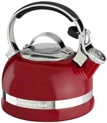 Чайник KitchenAid KTEN20SBER красный 1.9 л нержавеющая сталь от 123.ru