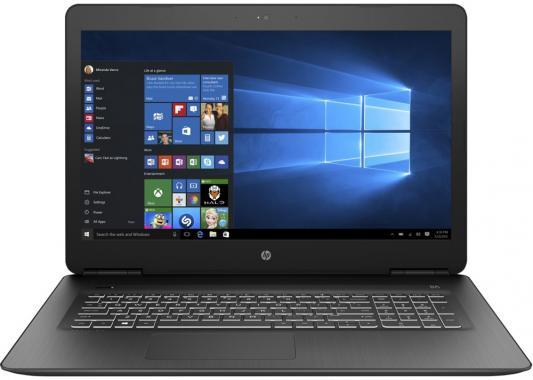 """цена на HP Pavilion Gaming 17-ab318ur 17.3""""(1920x1080)/Intel Core i7 7700HQ(2.8Ghz)/8192Mb/1000Gb/DVDrw/Ext:GeForce GTX 1050Ti(4096Mb)/Cam/BT/WiFi/62WHr/war 1y/2.85kg/Shadow Black/W10"""