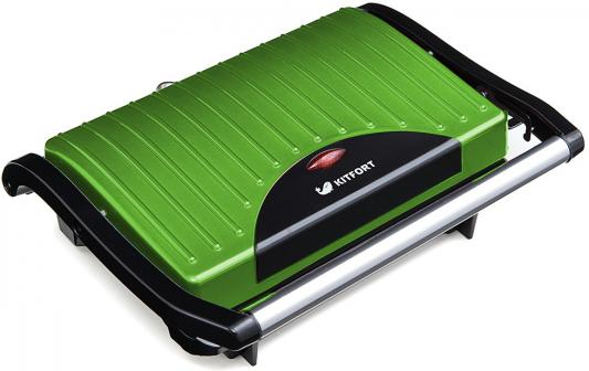 Картинка для Сэндвичница KITFORT Panini Maker KT-1609-3 зелёный чёрный