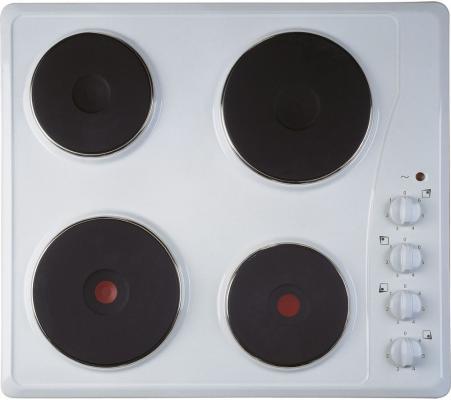 Варочная панель электрическая Indesit TI 60 W белый встраиваемая электрическая панель indesit vra 641 dbs