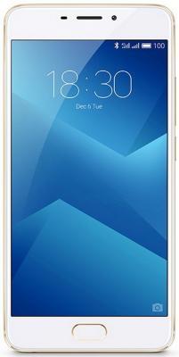 Смартфон Meizu M5 Note белый золотистый 5.5 16 Гб LTE Wi-Fi GPS 3G смартфон meizu m6 золотистый 5 2 16 гб lte wi fi gps