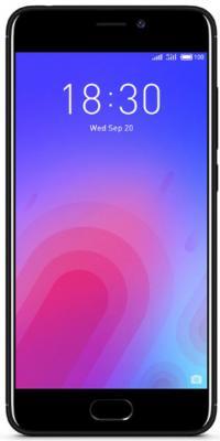 Смартфон Meizu M6 черный 5.2 16 Гб LTE Wi-Fi GPS смартфон meizu m6 золотистый 5 2 16 гб lte wi fi gps