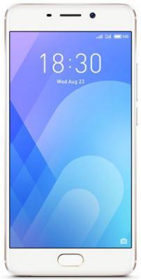 Смартфон Meizu M6 Note золотистый 5.5 16 Гб LTE Wi-Fi GPS смартфон meizu m5 note m621h 16gb серый