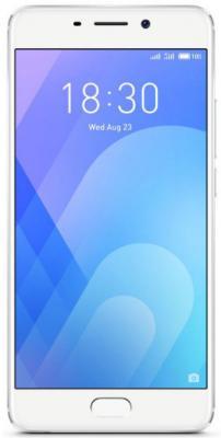 Смартфон Meizu M6 Note серебристый 5.5 16 Гб LTE Wi-Fi GPS смартфон meizu m5 note белый золотистый 5 5 16 гб lte wi fi gps 3g