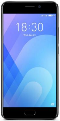 Смартфон Meizu M6 Note черный 5.5 32 Гб LTE Wi-Fi GPS смартфон meizu m5 note белый золотистый 5 5 16 гб lte wi fi gps 3g
