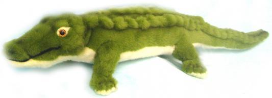 Мягкая игрушка крокодил Hansa 4051 искусственный мех зеленый 58 см мягкая игрушка dragons крушиголов цвет зеленый бордовый 24 см
