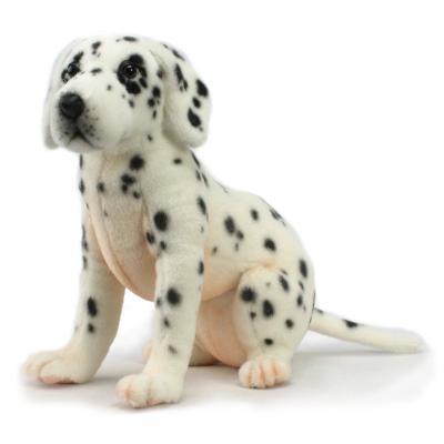 Мягкая игрушка щенок Hansa далматина искусственный мех синтепон белый черный 26 см 4709Щ мягкая игрушка собака hansa собака породы чихуахуа искусственный мех синтепон коричневый белый 31 см 6501