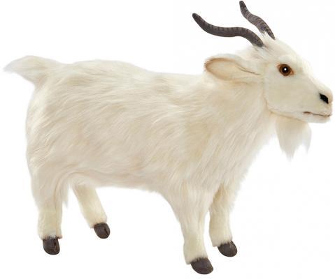 Купить Мягкая игрушка коза Hansa Турецкая коза текстиль белый 30 см 6486, Животные