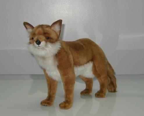 4253 Лисица рыжая,62 см мягкая игрушка hansa лисица 53 см 6990