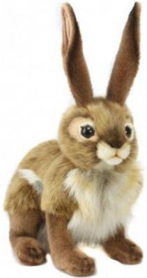 Мягкая игрушка заяц Hansa Чернохвостый заяц искусственный мех текстиль 30 см электроплита hansa fccw 54002