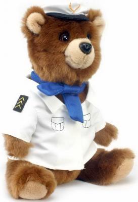 4032 Медведь-пилот, 25 см hansa мягкая игрушка медведь пилот 25 см
